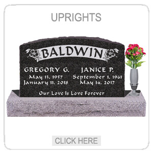 Upright Headstones