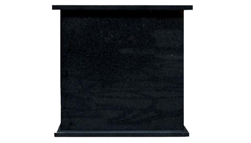 granite cremation urn