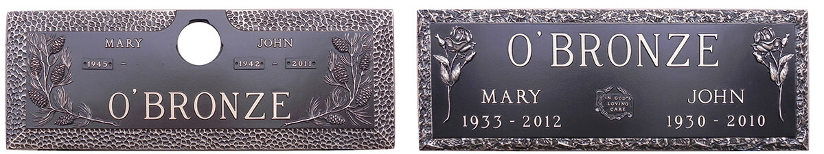 Bronze Memorial Plaques