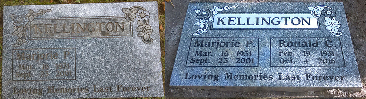 Headstone Engraving Services